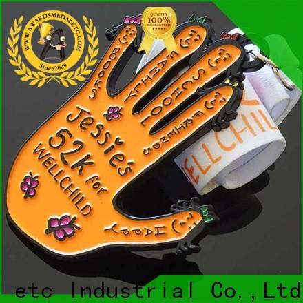 customized sports medal hockey supplier for match