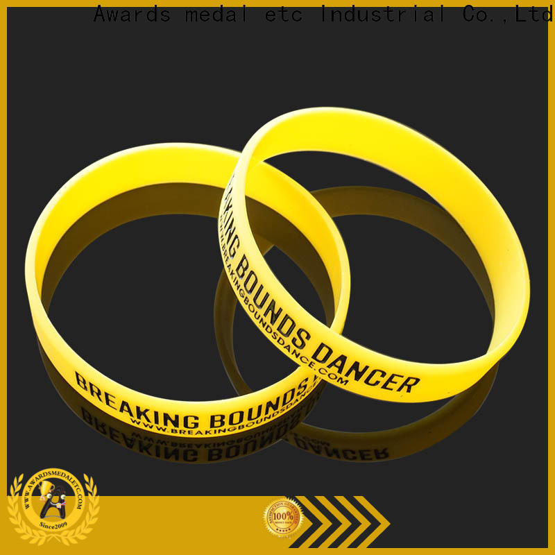 Awards Medal cost-effective custom silicone bracelets innovative product for sport