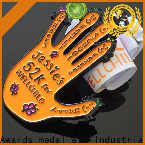 new running medals palm supplier for sale