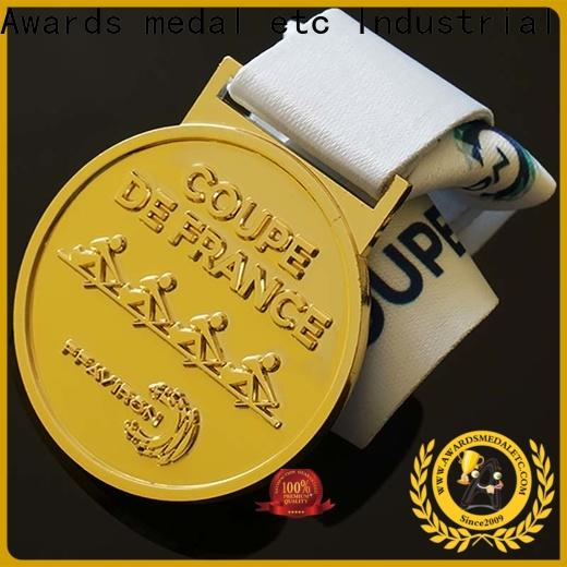 low-price sports medal hockey supplier for match