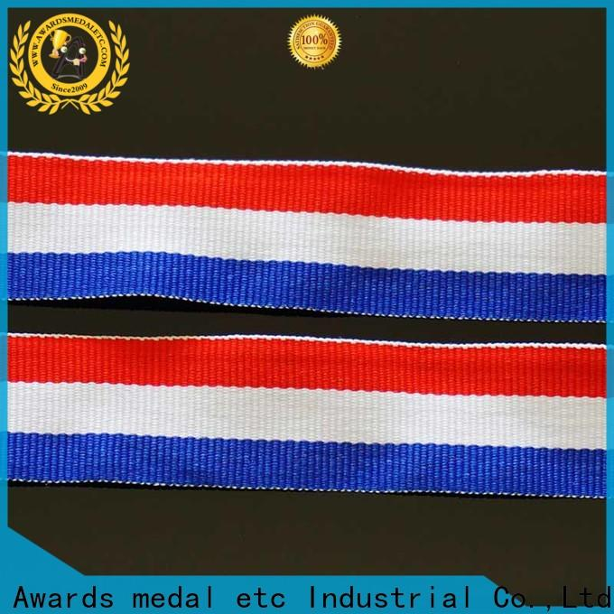 Awards Medal polyester lanyard supplier compact packaging for sport event