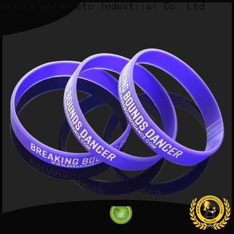 cost-effective silicone rubber wristbands bracelet exporter for event
