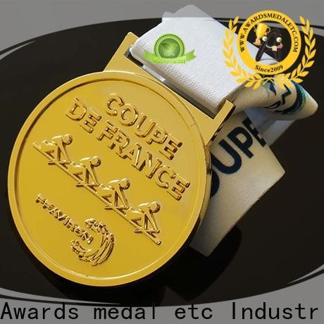 Awards Medal ribbon sports medallion factory for sale