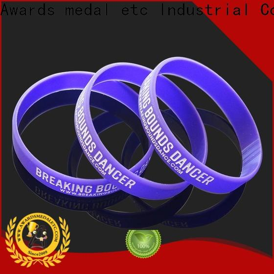 silicone rubber wristbands & custom medals