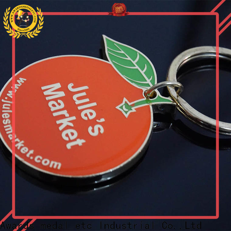 Awards Medal good quality metal keychain win-win cooperation for promotion