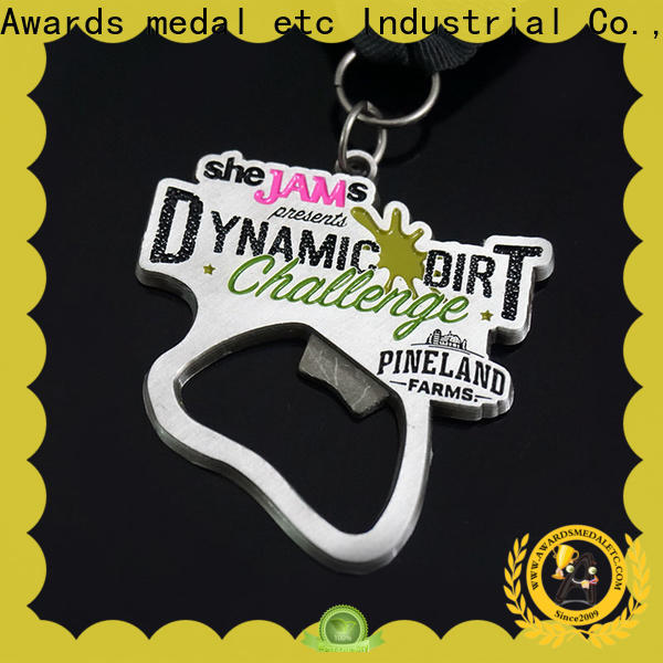 Awards Medal customized custom beer bottle opener bulk production for gifts