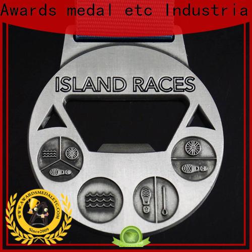 Awards Medal fashion metal bottle opener overseas market for gifts