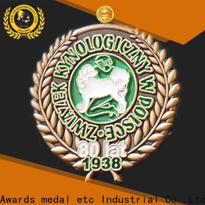 Awards Medal best enamel pin badges producer for souvenir