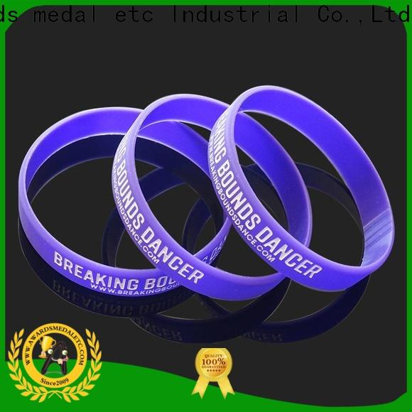 Awards Medal blank silicone bands exporter for event