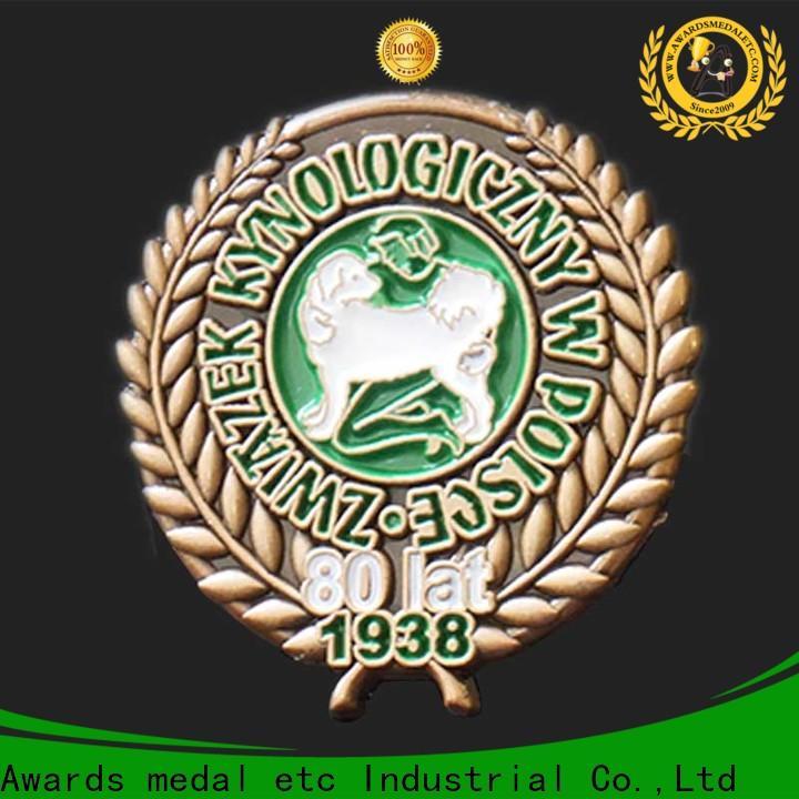 brass belt buckles & enamel pin badges
