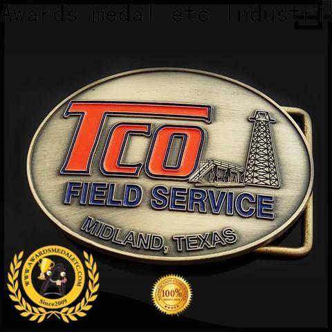 Awards Medal steel western belt buckles high reliability for sale