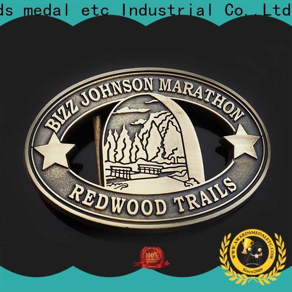 Awards Medal low-cost custom belt buckles manufacturer for sale