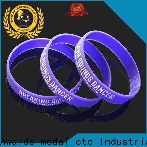 commercial custom silicone wristbands bulk export worldwide for event