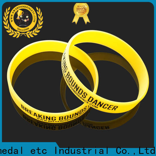 Awards Medal silicon silicone wristbands export worldwide for kids