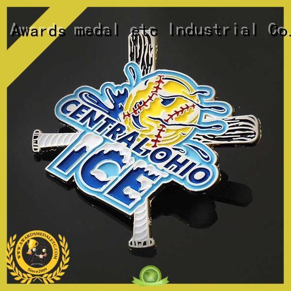 custom pin badges metal for gift Awards Medal