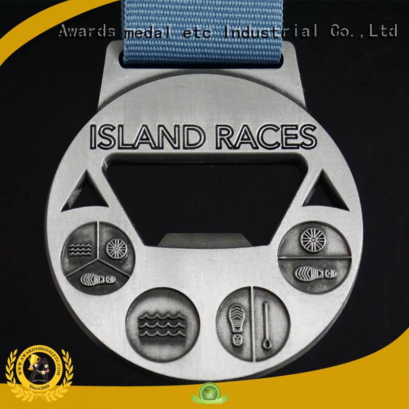 Awards Medal China metal bottle opener supplier for gifts