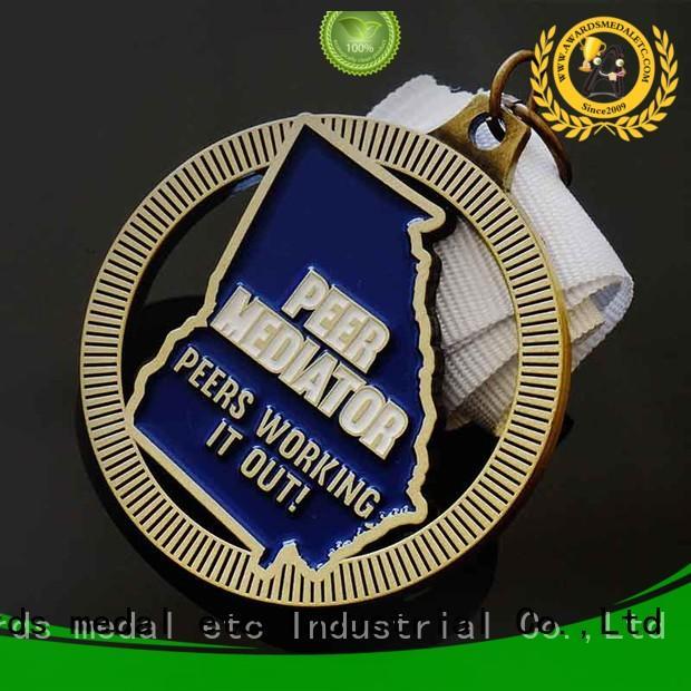 Awards Medal white custom medal bulk production for events