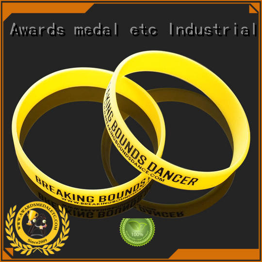 Awards Medal no silicone wristbands export worldwide for sport