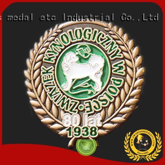 economical lapel pin badges design producer for garment