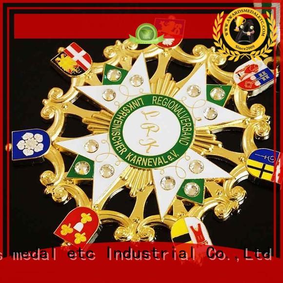 Awards Medal casting fiesta medal trader for importer