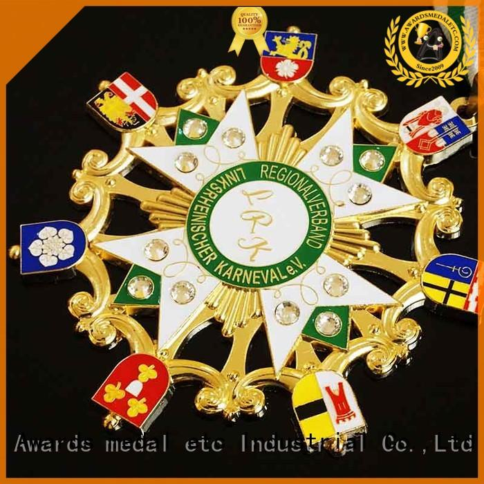 Awards Medal cord fiesta medal supplier for sale