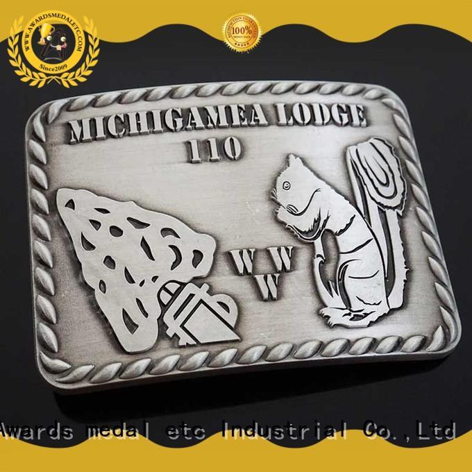Awards Medal name belt buckle manufacturers manufacturer for sale
