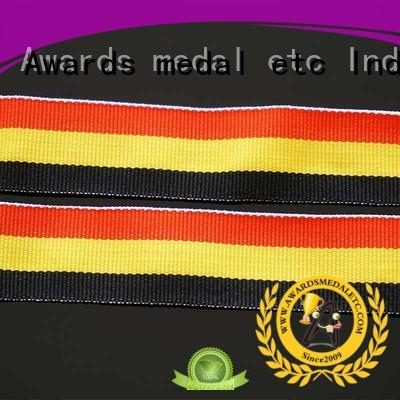 Awards Medal outstanding quality printed lanyards practical packaging for DIY
