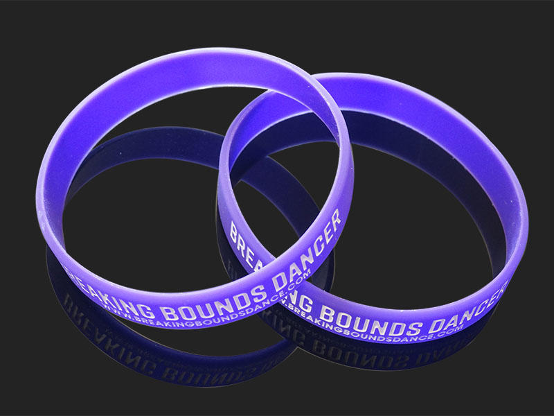 premium quality printed silicone wristbands no export worldwide for event