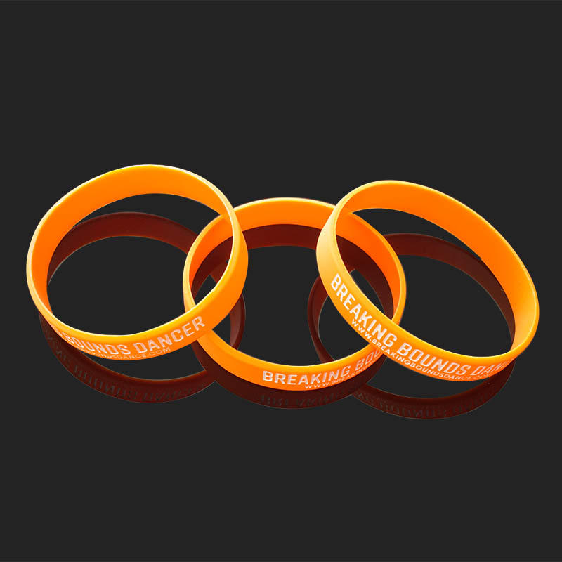 Bulk Cheap Custom Blank Silicone Wrist Bands No Minimum