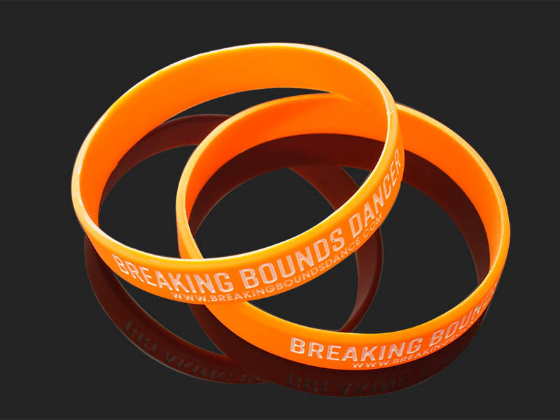 Awards Medal commercial printed silicone wristbands exporter for event