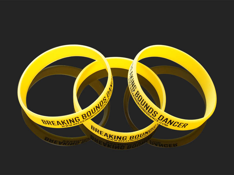 commercial silicone rubber wristbands printed exporter for event-1