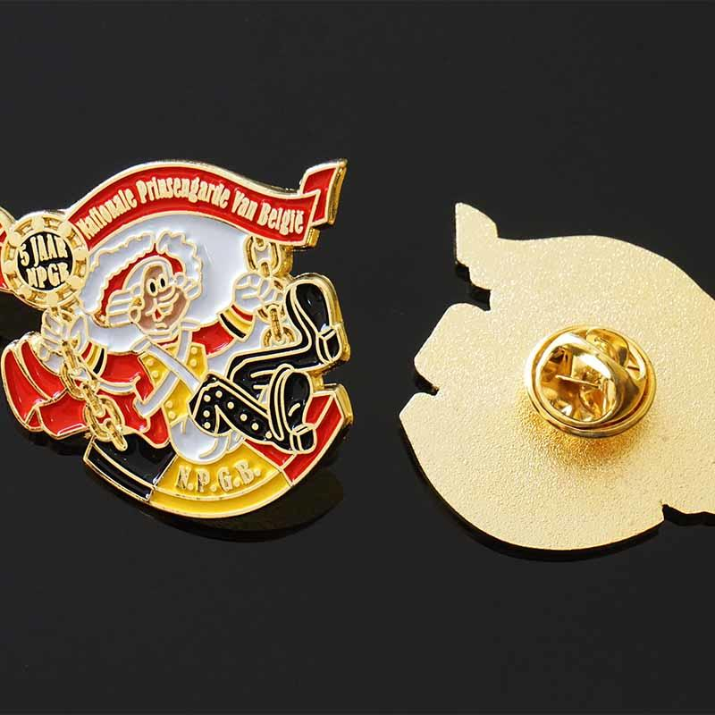 Manufacturer Custom Made Soft Enamel Medallion Metal Lapel Pins with Epoxy