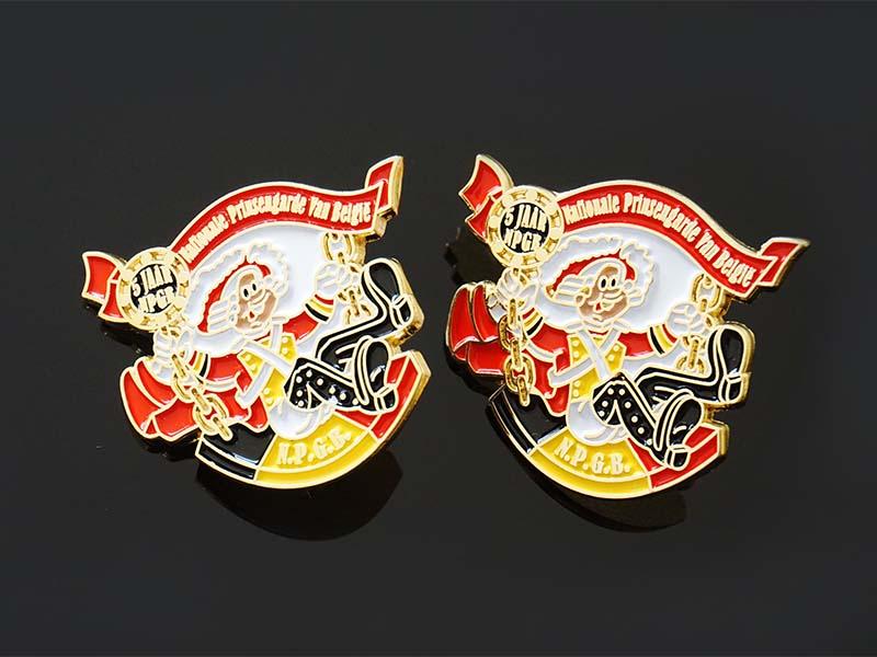 Awards Medal oem enamel pin badges looking for buyer for garment-1