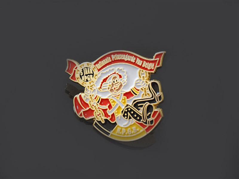 Awards Medal oem enamel pin badges looking for buyer for garment-2