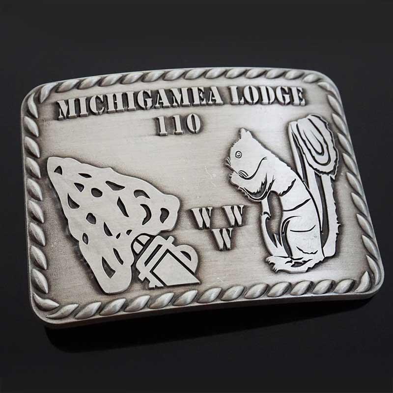 3D logo gold silver plated stainless steel metal custom western belt buckle manufacturer