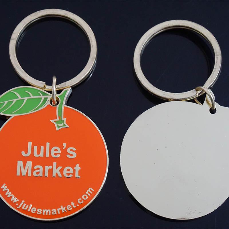 2018 Custom Logo Metal Key Chain, Wholesale Zinc Alloy Metal Keychain