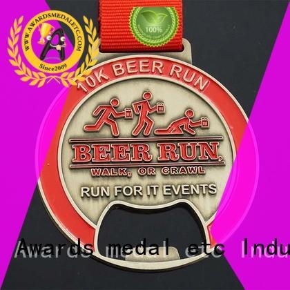 Awards Medal originality custom logo bottle openers customized for souvenir
