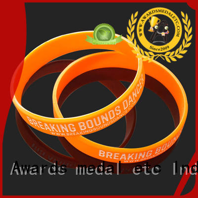 cost-effective custom silicone bracelets blank exporter for event