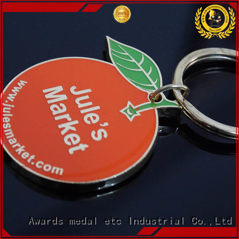 Awards Medal inexpensive metal key chains win-win cooperation for wholesale