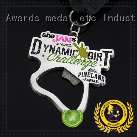 Awards Medal fashion custom bottle openers bulk production for events