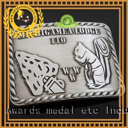 Awards Medal customized custom made belt buckles manufacturer for mass-market