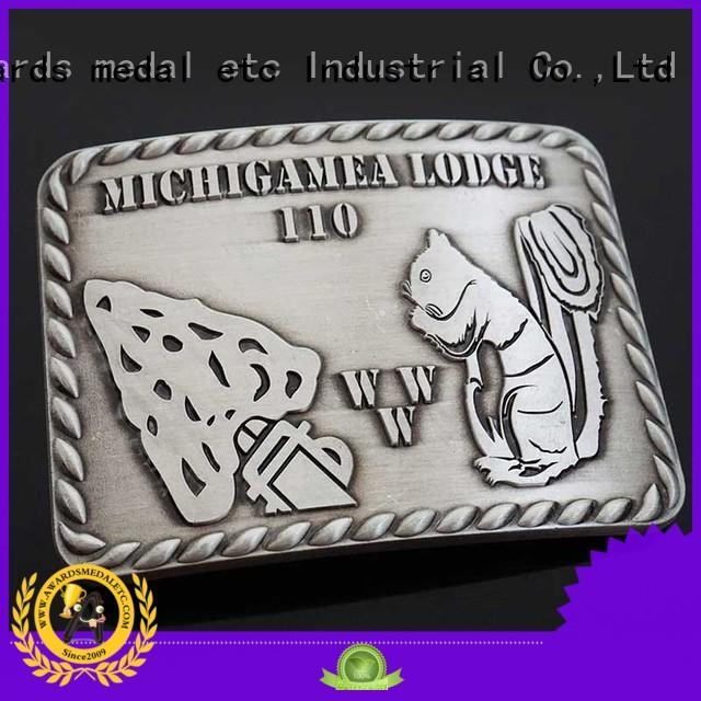 Awards Medal customized mens belt buckles metal for sale