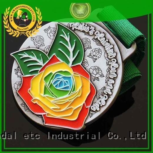 fabric lanyard & custom shape metal keychains