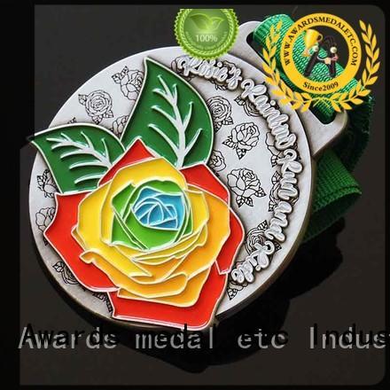 most popular custom medal cut bulk production for souvenir