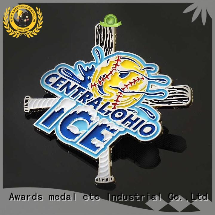 Awards Medal metal lapel pin badges producer for garment