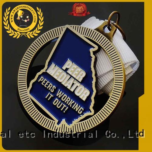 originality custom medal white supplier for events