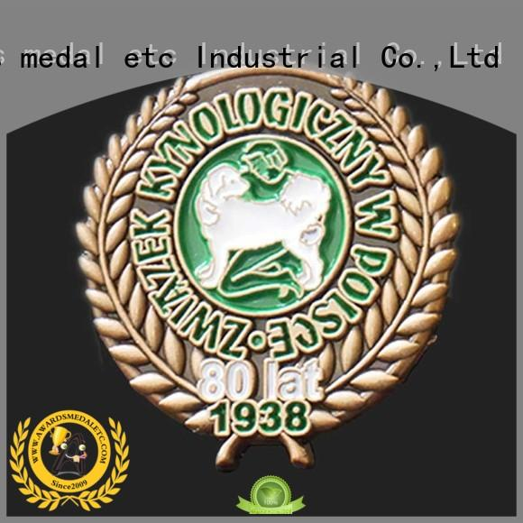100% quality enamel pin badges plating overseas trader for garment