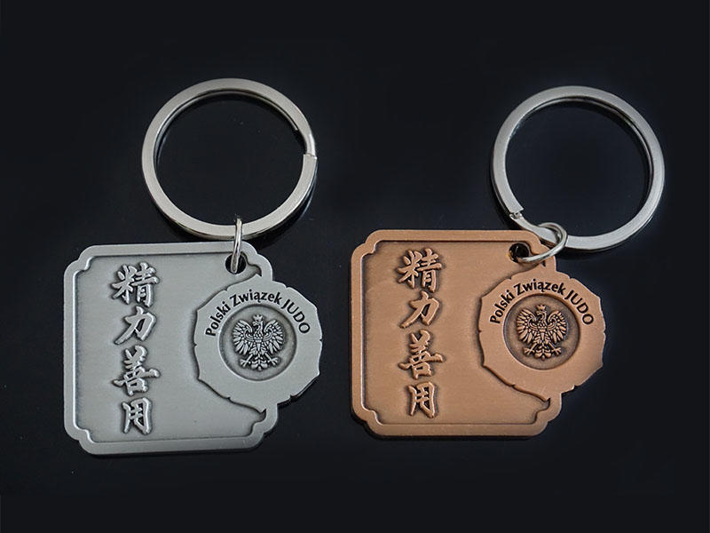 Awards Medal oem metal key chains international market for promotion-1