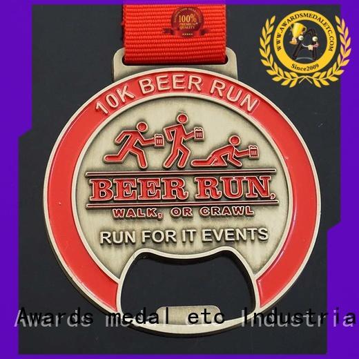 Awards Medal most popular metal bottle opener overseas market for gifts