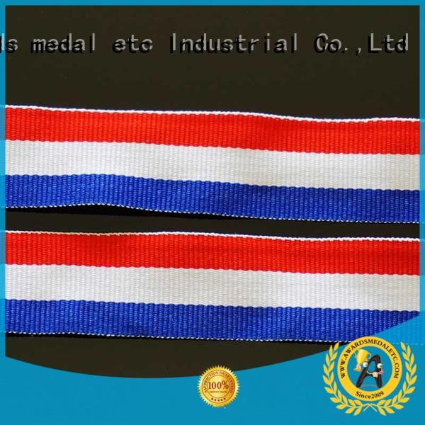 Awards Medal event printed lanyards compact packaging for DIY